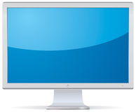 Monitor or TV vector illustration Royalty Free Stock Image