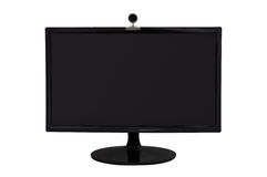 Monitor and webcam Stock Photos