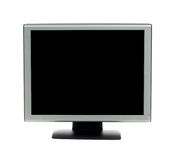 Monitor on White stock photo