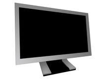 Monitor Widescreen Imagem de Stock Royalty Free