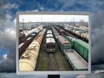 Monitoração imagem de stock