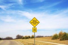 Monitoração do zangão da segurança Imagem de Stock Royalty Free
