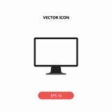 Monitore o ícone Imagem de Stock Royalty Free