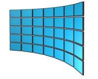 Monitore a parede Imagens de Stock Royalty Free
