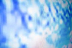 Monitore pixéis Fotografia de Stock