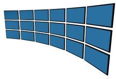 monitores de 3D LCD Foto de archivo