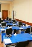Monitores do computador no estudo Imagem de Stock Royalty Free