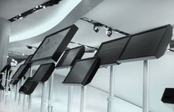 Monitores do LCD Imagens de Stock