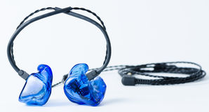 Monitores in-ear Foto de archivo libre de regalías