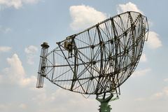 Monitoring. Russian radar stock image
