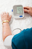Monitoring Blood Pressure Royalty Free Stock Image