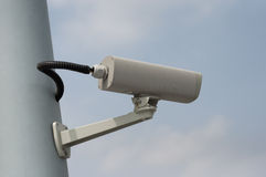 Monitoring camera Royalty Free Stock Image
