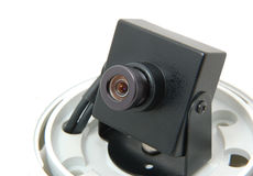 Monitoring camera Royalty Free Stock Photo