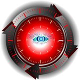 Monitoring medical technologies Royalty Free Stock Images