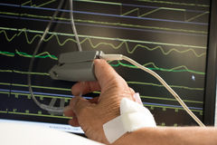 Free Monitoring Of Patient In Hospital. Royalty Free Stock Images - 96330189