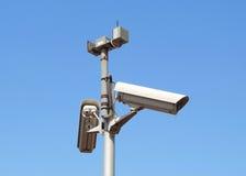 Monitorowanie kamery obraz royalty free