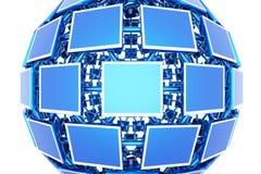 Monitors stock afbeelding
