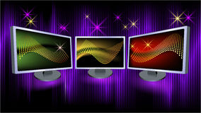 Monitors Royalty Free Stock Image