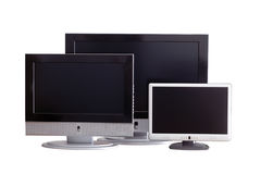 Monitors Stock Afbeelding