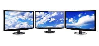 Monitors Royalty Free Stock Photography