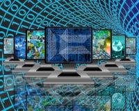 Monitors Stock Image