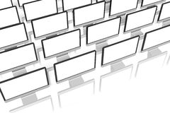 Monitors... Royalty Free Stock Images
