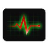 Monitoru diagnostyk ilustracja wektor