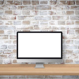 Monitoru ekranu mockup Obrazy Stock