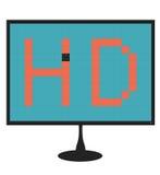 Monitoru nieżywy piksel Obraz Stock