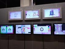 Monitoru obrazka kolorowa grafika obraz stock