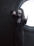 Monja asustadiza del diablo Imagen de archivo