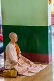 Monja budista Fotos de archivo