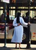 Monja católica Imagenes de archivo