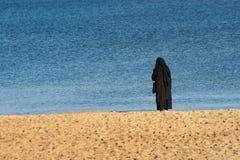 Monja de la soledad Imagen de archivo libre de regalías