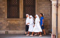 monjas Foto de archivo libre de regalías