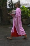 Monjas budistas en Myanmar Foto de archivo libre de regalías
