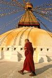 Monje budista imagen de archivo libre de regalías