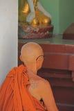 Monje budista Imagenes de archivo