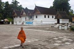 monje budista del niño Foto de archivo