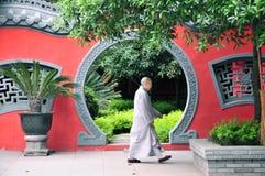 Monje chino China fotos de archivo libres de regalías