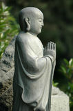 Monje de rogación en Xian China Imagen de archivo