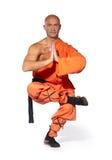 Monje del guerrero de Shaolin Fotos de archivo libres de regalías