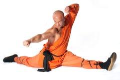 Monje del guerrero de Shaolin Fotografía de archivo
