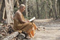Monje en budista imagen de archivo