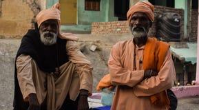 Monje hindú Imagenes de archivo