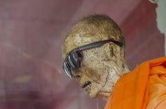 Monje momificado, Koh Samui Fotos de archivo libres de regalías