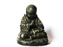Monje Statue Fotografía de archivo