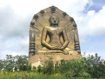 Monje Statues fotos de archivo