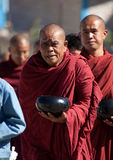 Monjes birmanos Fotos de archivo libres de regalías