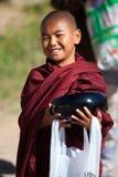 Monjes birmanos Fotografía de archivo libre de regalías